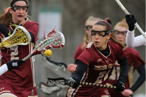 Boston College Women's Lacrosse: Eleven Goal Second Half, Five Goal Effort by Kent Powers BC past No. 11 Notre Dame
