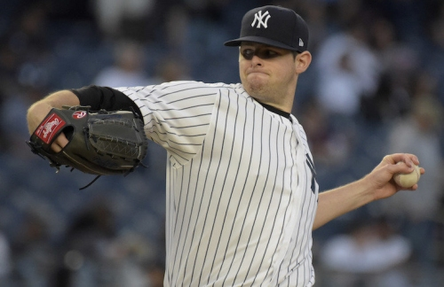 Yankees' Jordan Montgomery not expecting much in first at-bats since high school