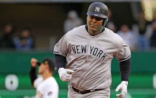 Chris Carter's first Yankee home run came at the perfect time