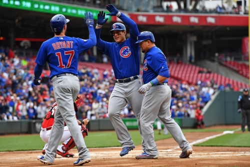 Cubs Go For Series Sweep Of Reds