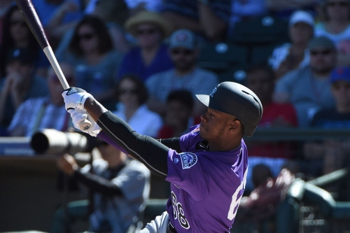 Colorado Rockies prospect Raimel Tapia continues to hit Triple-A pitching