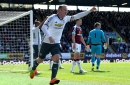 Burnley 0-2 Manchester United: Martial and Rooney score but Pogba limps off late