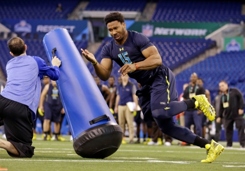 Warren Sapp sees a 'lazy kid' out of Myles Garrett, says the defensive endshouldn't be the No. 1 overall pick