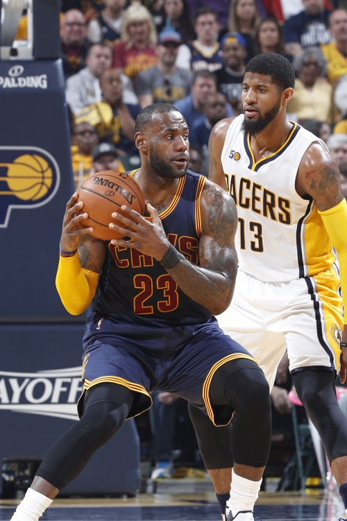 James helps Cavs hold off Pacers, earn sweep into 2nd round The Associated Press