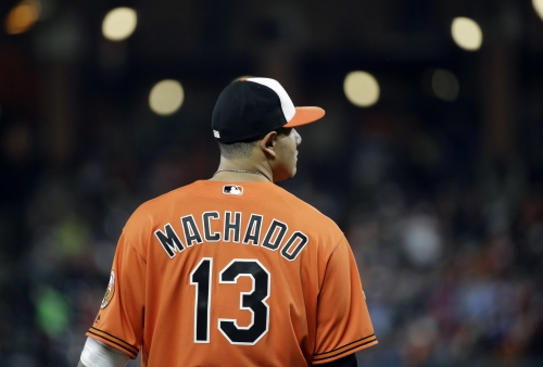 Matt Barnes ejected for throwing at Manny Machado in Red Sox vs. Orioles