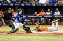 Bullpen can't hold early lead as Rays fall to Astros in 10 (w/video)