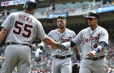 Tigers' lineup-up of fill-ins and new arrivals rout Twins