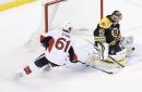 Senators defeat Bruins in overtime, win series 4-2