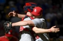 Leake coasts as Cardinals outlast Brewers 4.23.17