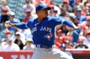 Stroman goes the distance, bats explode late to power 6-2 Blue Jays win