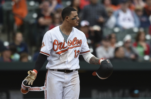 Manny Machado in center of bad blood as Red Sox beat Orioles