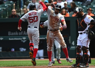 Forget The Empire, Red Sox Beat New Rival O's, 6-2