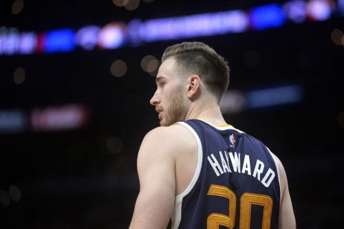 Gordon Hayward recovering from food poisoning.