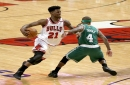 Boston Celtics' Avery Bradley not trying to get fined after Jimmy Butler took 23 free throws in Game 4