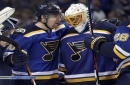 Blues Notes: Allen takes postseason success in stride