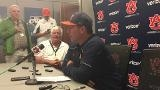 Auburn head coach Butch Thompson after 11-6 victory vs. No. 14 Arkansas