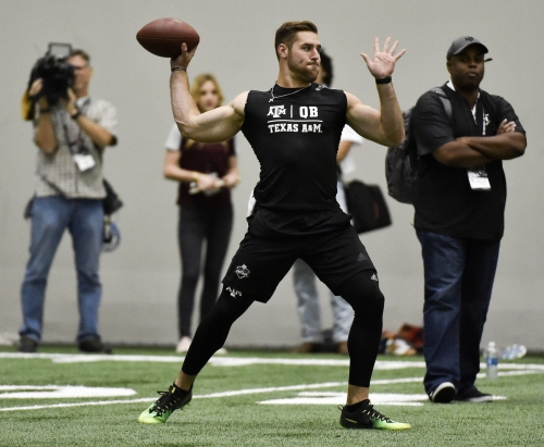 Former Texas A&M quarterback Knight faces uncertain future as NFL draft approaches