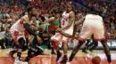 Derrick Rose: Nothing weird about attending Bulls vs. Celtics playoff game