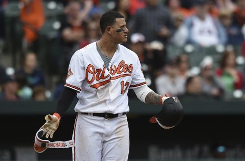 Manny Machado reacts to Matt Barnes pitch near his head: 'I wasn't expecting anything'