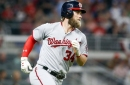 Washington Nationals' Bryce Harper seems to love playing in April
