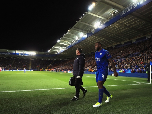 Wes Morgan and Islam Slimani ruled out for Leicester's clash with Arsenal