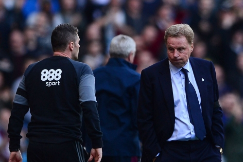 Harry Redknapp's post-match actions smack of idiocy