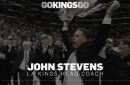 WATCH 1:30p: LA Kings introduce new head coach John Stevens
