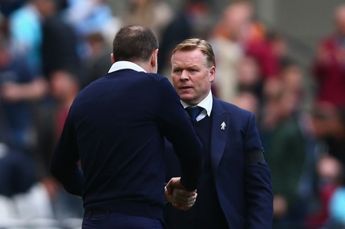 Everton's lack of width caused languid display at West Ham