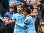 Manchester City's Sergio Aguero, David Silva 'train ahead of derby clash'