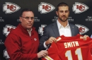 With Smith in fold, Chiefs still open to drafting QBs The Associated Press