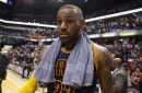 LeBron James sends thoughts and prayers to Steve Kerr
