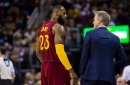LeBron James wishes Steve Kerr a speedy recovery