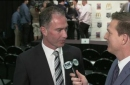 LA Kings new head coach John Stevens talks after his introduction