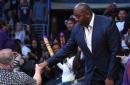 Magic Johnson and Rob Pelinka will represent the Lakers at the 2017 NBA Draft Lottery