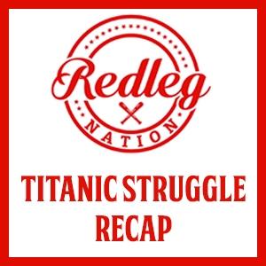 Titanic Struggle Recap: Amir Garrett struggles, but a new star is born