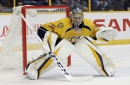 Predators-Blues features goalie showdown of Rinne vs. Allen The Associated Press