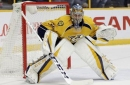 Predators-Blues features goalie showdown of Rinne vs. Allen