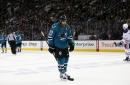 Sharks' Thornton undergoes successful surgery on his left knee