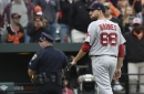 Red Sox reliever Matt Barnes says Dustin Pedroia is 'great teammate' following weekend comments in Baltimore series
