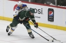 Wild's Staal has concussion from head-first boards crash The Associated Press