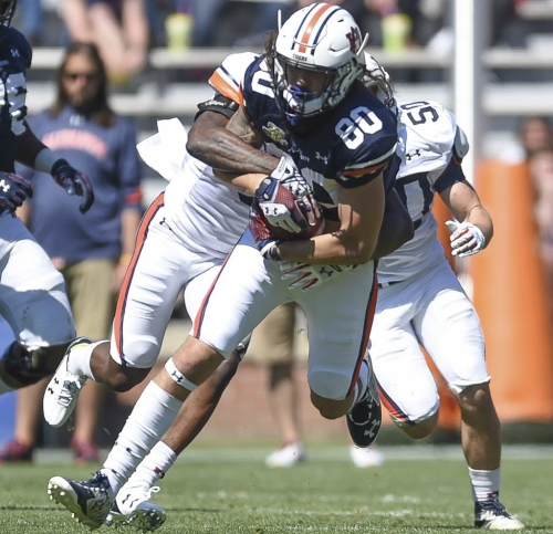 What Auburn tight end Sal Cannella needs to work on this offseason