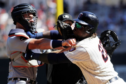 Miguel Sano appealing one-game suspension