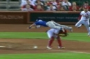 Former Cubs Player Chris Coghlan Just Jumped Over Yadier Molina!