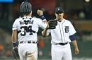 Tigers score 9 runs in the 5th inning, crush Mariners 19-9