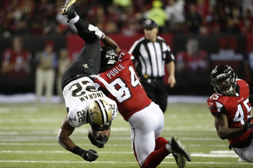 Pro Football Focus: Atlanta Falcons cornerback Brian Poole is one of the team's best pass rushers