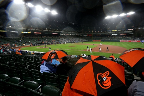 Orioles prospects 4/26: Rain and runners left on base