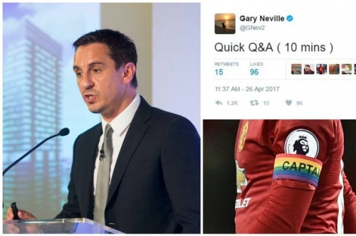 Manchester United great Gary Neville names surprising player to replace Wayne Rooney as captain