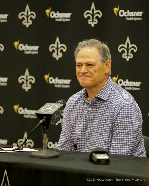 Saints' Mickey Loomis balances analytics, eye-test when evaluating draft prospects