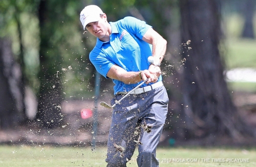 Drew Brees and Sean Payton play in the Zurich Classic Pro-Am: photo gallery