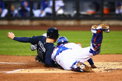 Braves snap skid with five-run first, 8-2 win over Mets